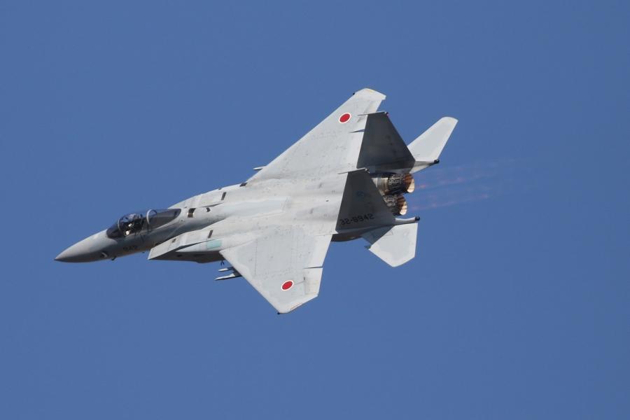 2018-11-18F-15イーグル戦闘機アフターバーナー007A0933