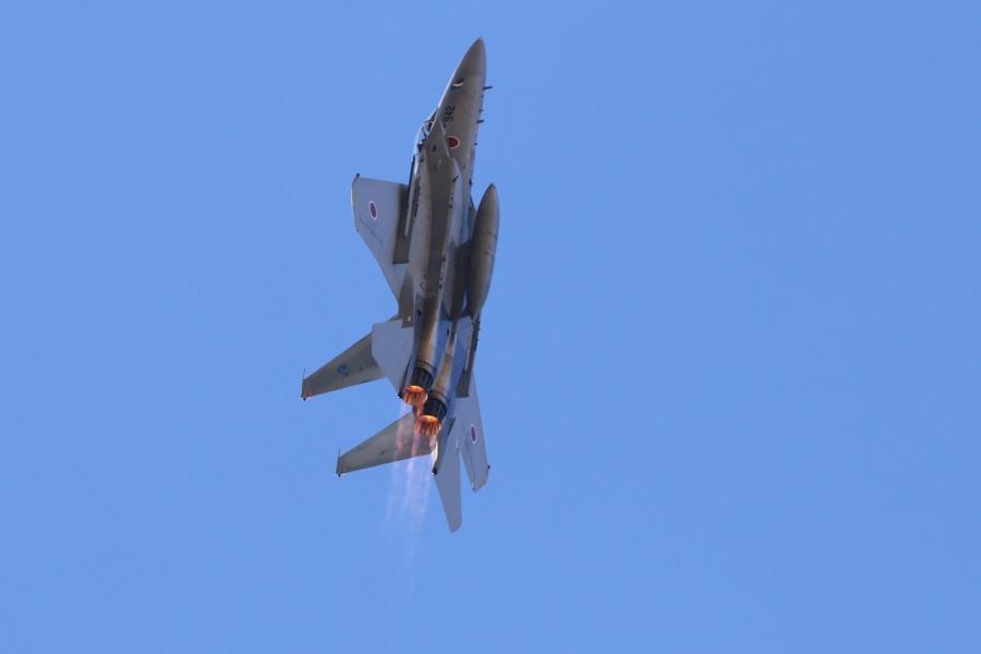 2018-11-18F-15イーグル戦闘機アフターバーナー269A7448