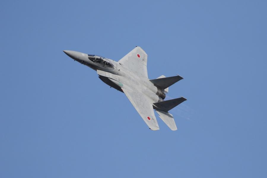 2018-11-18F-15イーグル戦闘機 アフターバーナー007A0611