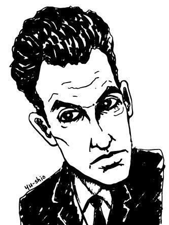 John Lurie caricature likeness