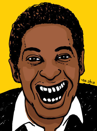 Sam Cooke caricature likeness