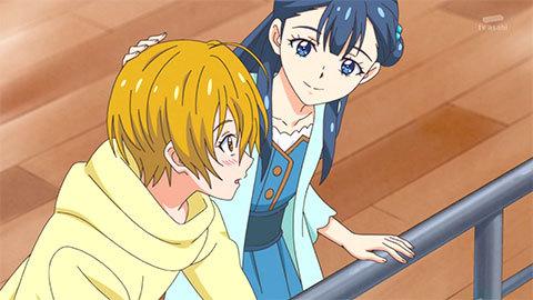 【HUGっと!プリキュア】第43話「輝く星の恋心。ほまれのスタート。」04