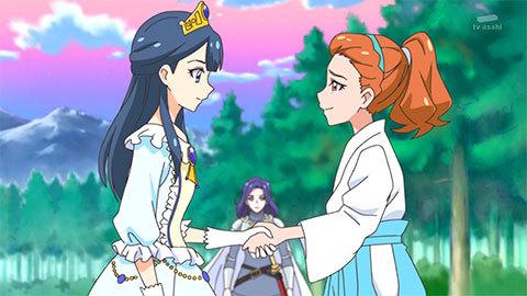 【HUGっと!プリキュア】第44話「夢と決断の旅へ!さあやの大冒険!」14