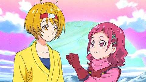 【HUGっと!プリキュア】第44話「夢と決断の旅へ!さあやの大冒険!」10