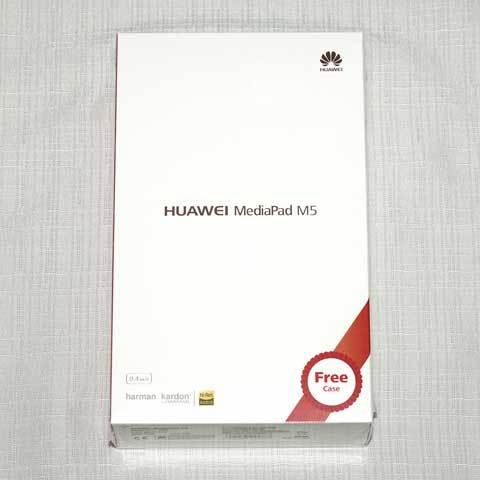 【MediaPad M5 8.4[SHT-W09]】パッケージ