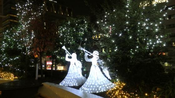 クリスマスイルミネーション2018 その1(あべのキューズモールにて)