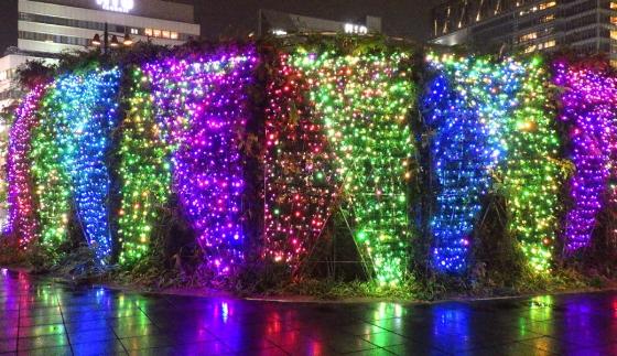 クリスマスイルミネーション2018 その3(てんしばにて)