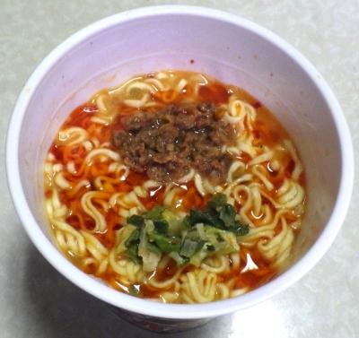10/29発売 麺屋 極鶏 赤だく(できあがり)