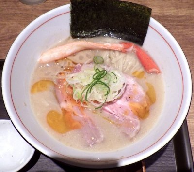 麺と心 7 花咲ガニの濃厚蟹そば