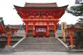 京都・伏見稲荷大社・楼門【重要文化財】