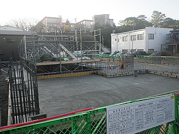 2018/11/29 土間コンクリート打設完了