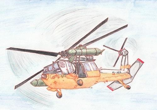 UH-60J 今日ものんびりと 2018/10/14
