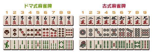 FF14 ドマ式麻雀牌