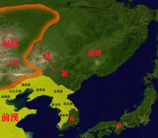 Map_of_The_east_barbarian_0龍は大嫌い年号にも名前にも龍の服すらきたことはないけど亀は凄く大好きな天皇一族