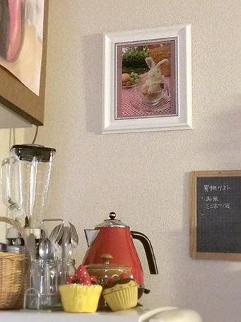 No.0032 写真は家のキッチンに飾っています