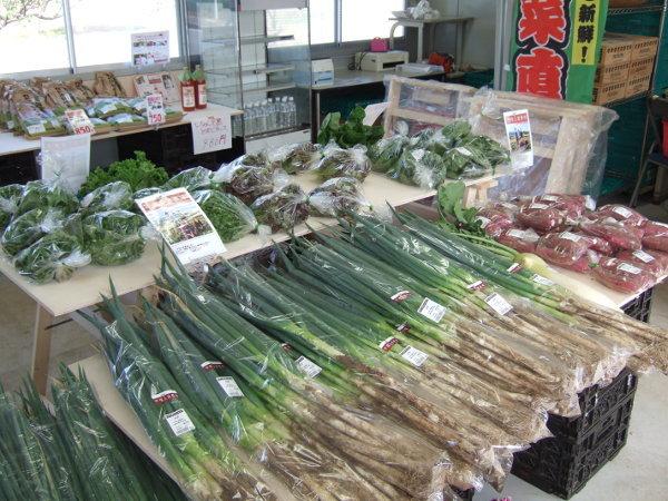 直売所新鮮野菜