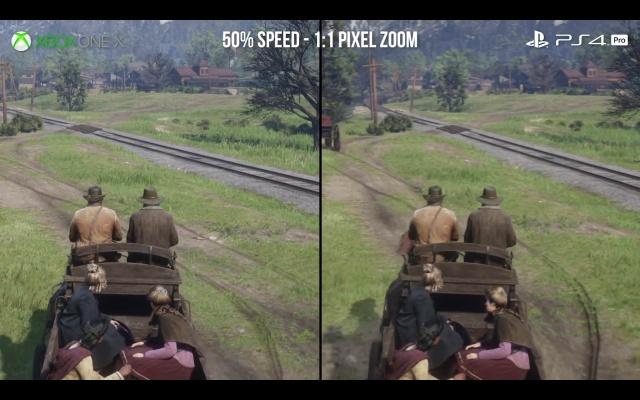 『レッド・デッド・リデンプション 2』 PS4 Pro解像度半分以下フレームレートガクガク劣化しすぎワロタwww