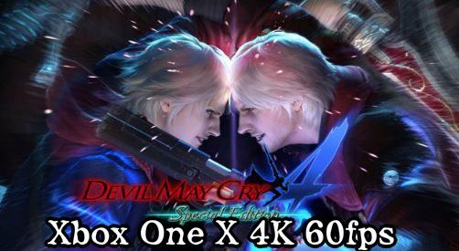 デビルメイクライ5 Xbox One X 4K 60fps