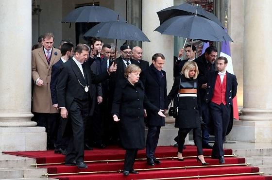 第一次大戦休戦協定100年記念式典 パリ