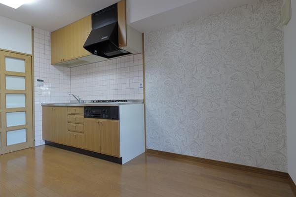 中山手コーポ603号2008-キッチン