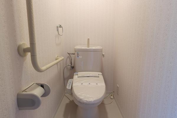 中山手コーポ603号2008-トイレ