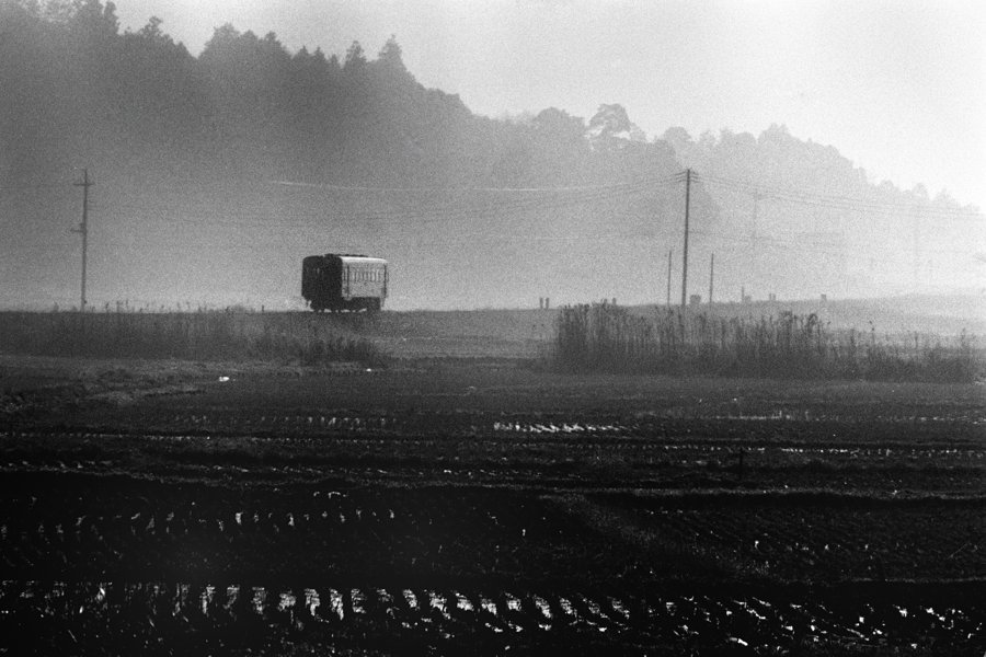 鹿島鉄道 桃浦の朝2 1981年12月22日 Adobe16bit 原版 take1b