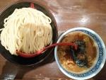 山椒つけ麺中@三田製麺所阿倍野店