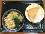 かけうどん小+おあげ@こがね製麺所西条店