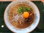 徳島らーめん・卵セット@徳島港フェリーターミナル内軽食・喫茶「海の道」