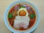 冷たいトマトクリームラーメン@拉麺開花
