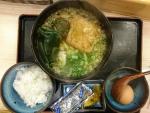 うどん定食@さぬきうどん四国屋本店