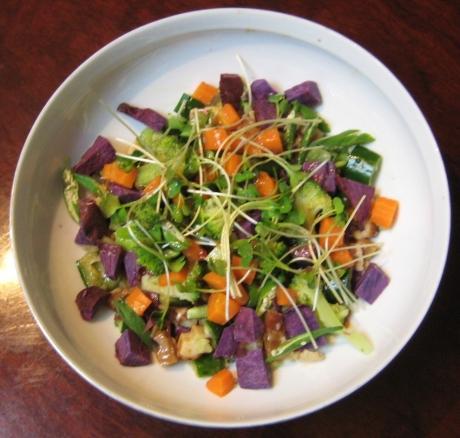 紫いもサラダ