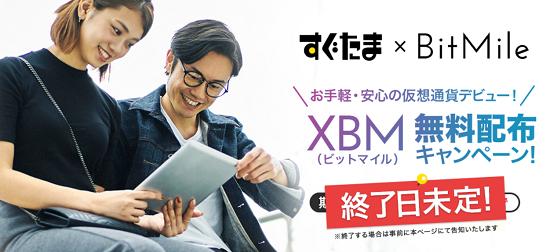 すぐたま ビットマイルキャンペーン(XBM)