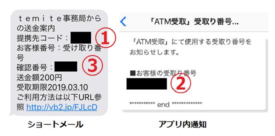 temite(テミテ) セブンイレブン「ATM受取案件取り組み