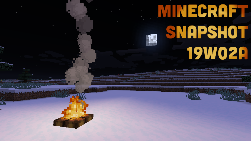 minecraft_snapshot_19w02a_title.png