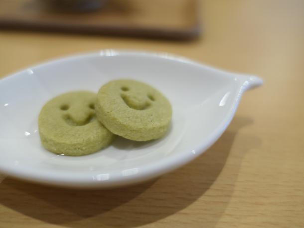 抹茶のクッキー