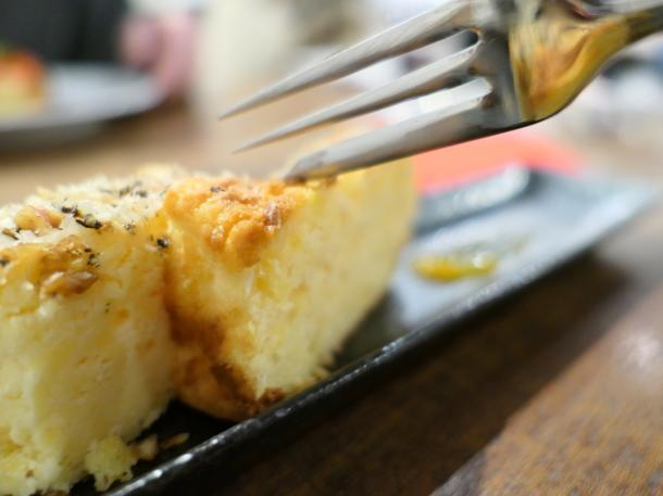 パルメザンチーズケーキ