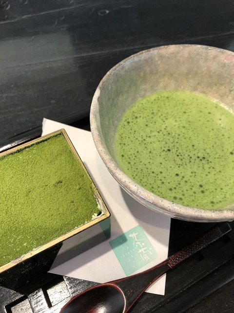 茶蔵 山形店 抹茶ティラミス