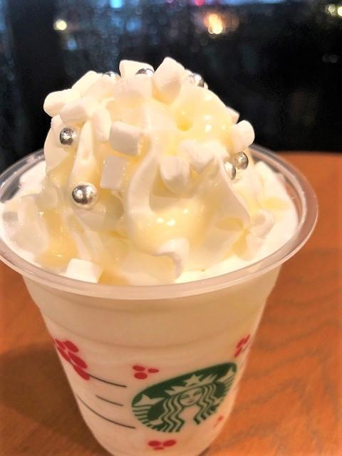 スターバックスコーヒージャパン ホワイトチョコレートスノーフラペチーノ1