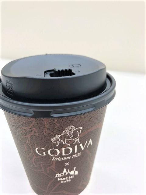 ローソン MACHI café×GODIVA ホットチョコレート1