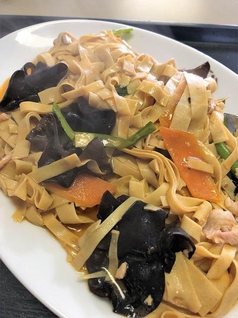 中国家常菜料理 吉祥飯店 干豆腐炒め