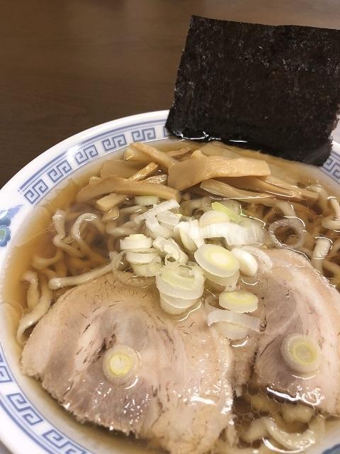 雲ノ糸 弐号店 煮干中華(太麺あっさり小)