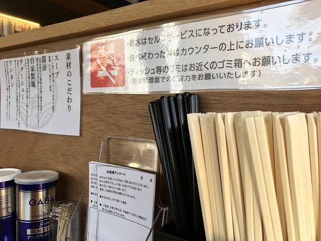 酒田ラーメン 照月 アンケート