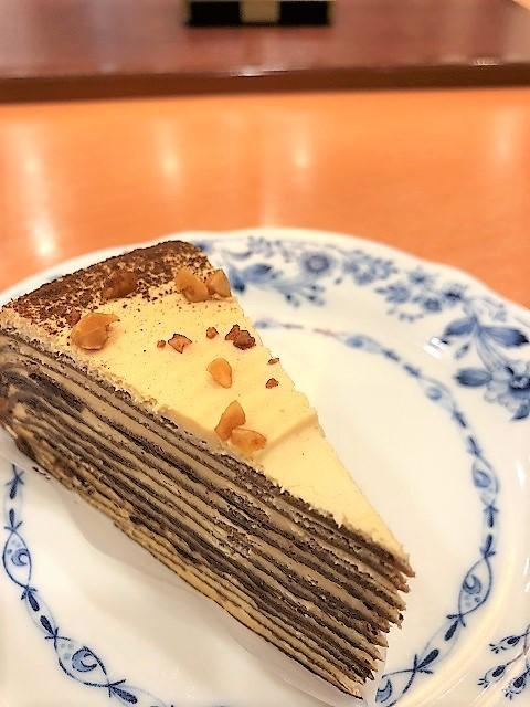 ドトールコーヒーショップ EneJet酒田店 バナナのパリパリチョコミルクレープ