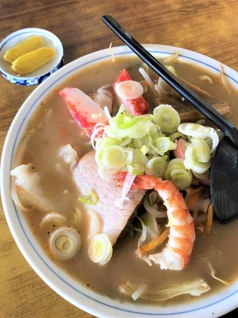 遠田食堂 白湯麵