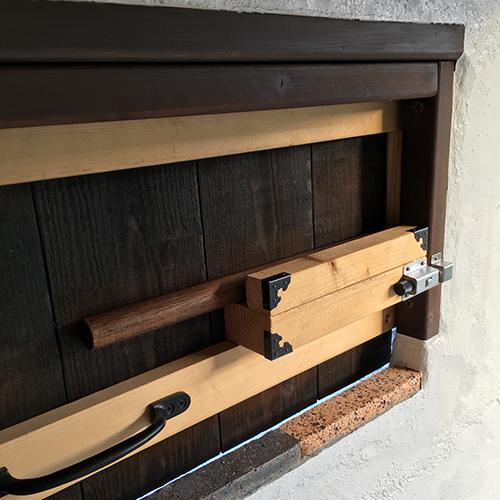 一人で作るブロック小屋⑭ ~突き出し窓を作る~⑨