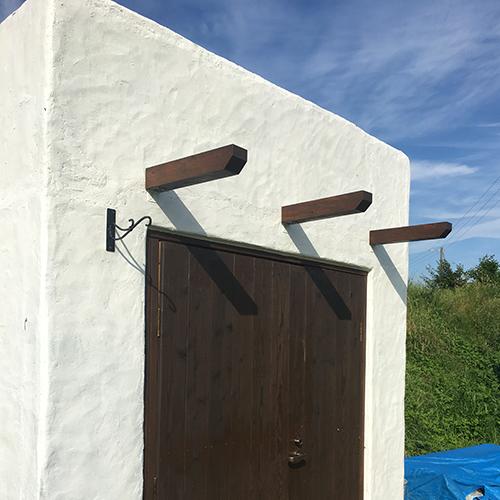 一人で作るブロック小屋⑰ ~パーゴラを作る~⑤