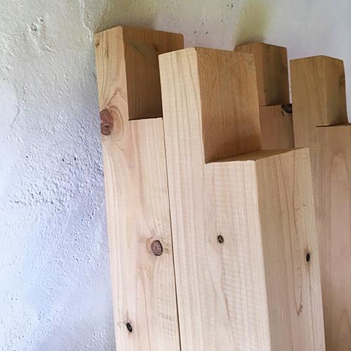 一人で作るブロック小屋⑰ ~パーゴラを作る~⑧