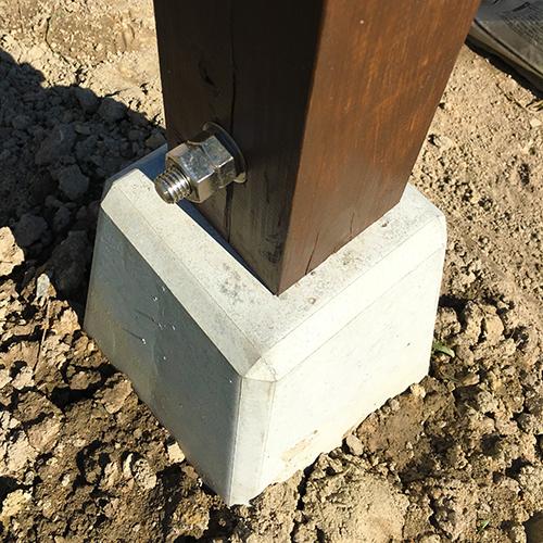 一人で作るブロック小屋⑰ ~パーゴラを作る~⑪