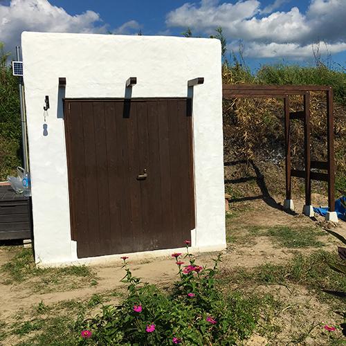 一人で作るブロック小屋⑰ ~パーゴラを作る~⑭